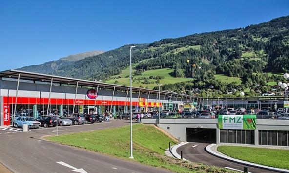 Das Fachmarktzentrum ist zur fixen Größe im Lienzer Talboden und Umgebung geworden. Foto: Expa/Groder