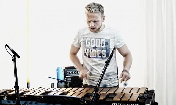 Matthias Legner am Vibraphon. Foto: Matthias Breit