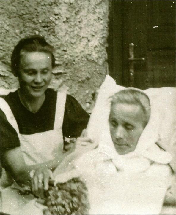 Schwester Sefe Walder war die erste Gemeindekrankenschwester der Region.
