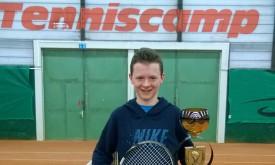 13-jähriger David Forcher siegt beim ÖTV-Turnier