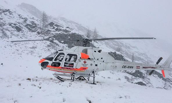 Die Bergretter machten sich auf den Weg zum Unfallort am Rainerhorn. Foto: Bergrettung Prägraten