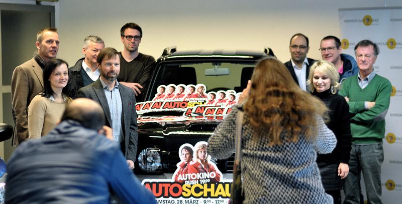 Osttirols Autohändler bieten einen Tag lang Show und Information rund um's Auto, inklusive Kinoerlebnis unter freiem Himmel. Foto: Dolomitenstadt