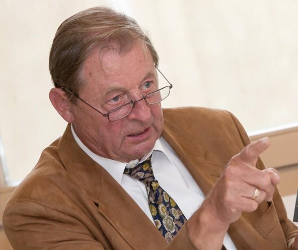 Er hat die Bank mitbegründet und sieht einen klaren Auftrag zur Selbständigkeit: Leo Gomig.