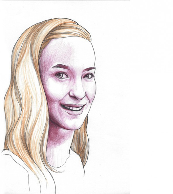Lisa Benedikt, porträtiert von Linda Steiner.
