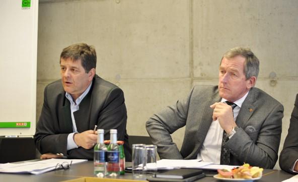 Reinhard Lobenwein brach eine lanze für die Lehre und Hermann Kuenz will Angebot und Nachfrage auf dem Arbeitsmarkt besser abstimmen.