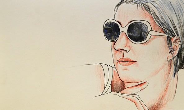 Maria Steiner, porträtiert von Linda Steiner