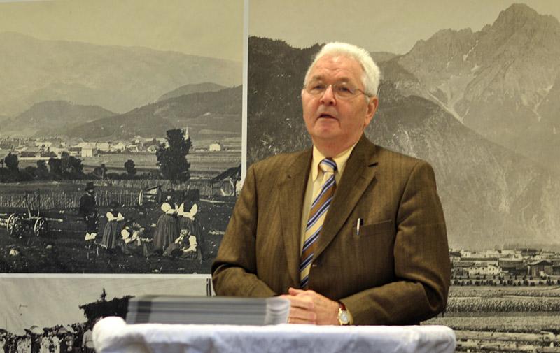 Ohne ihn gäbe es das TAP nicht: Richard Piock freut sich über die spontane Überbrückungshilfe des Landes. Fotos: Dolomitenstadt