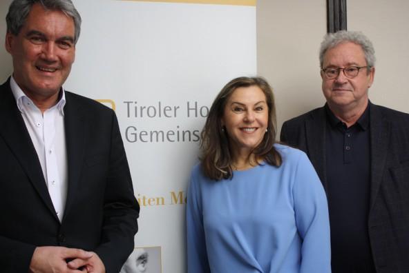Georg Schärmer, Elisabeth Zanon und Christian Haring (von links) widersprechen der Empfehlung der österreichische Bioethikkommission.