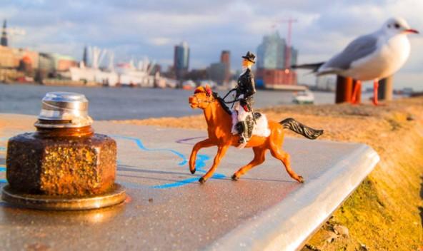 Die kleinen Sportler freuen sich auf Paralympische und Olympische Spiele in Hamburg.  Foto: Kathrin Beyer