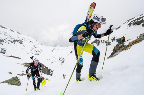 Die Tauern Trophy wird teils in hochalpinem Gelände ausgetragen und ist auf dem Zettersfeld heuer auch ein Publikumsspektakel. Foto: Expa/Gruber