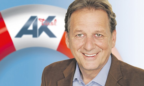 AK-Präsident Zangerl sieht die humane Pflege in Gefahr. Foto: AK