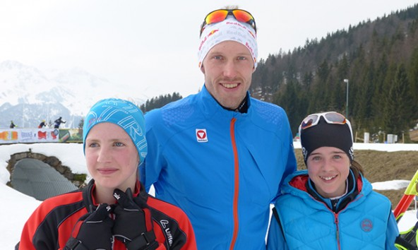 Auch der erfolgreiche oberösterreichische Biathlet Dominik Landertinger trainiert gerne im Defereggen.