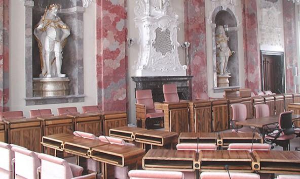 Der Tiroler Landtag wird in Zukunft mit einer neuen Geschäftsordnung arbeiten. Foto: Tiroler Landtag