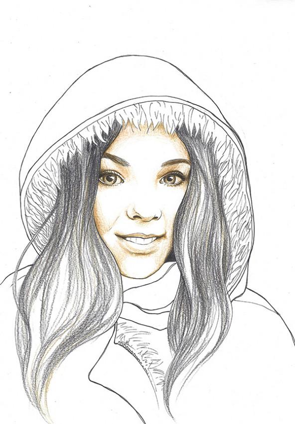 porträtiert von Linda Steiner.