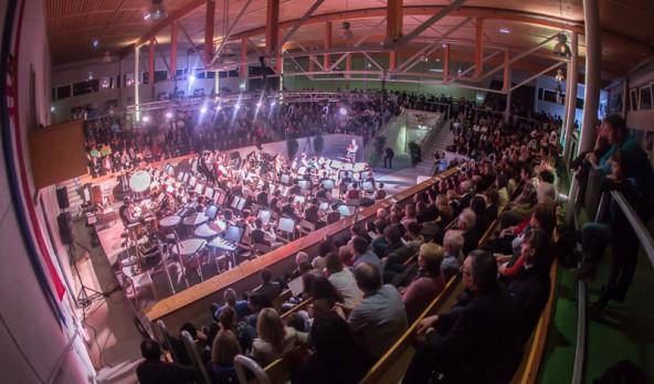 """Die """"Eisenbahner"""" füllten die Lienzer RGO-Arena und ernteten frenetischen Applaus."""