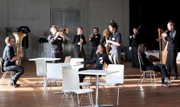 Die Musikbanda, fotografiert von Bernd Uhlig.