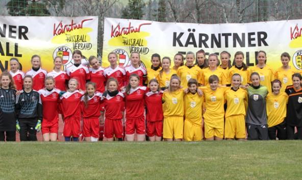 Die Fußballtalente der Zukunft waren in Lienz zu Gast.