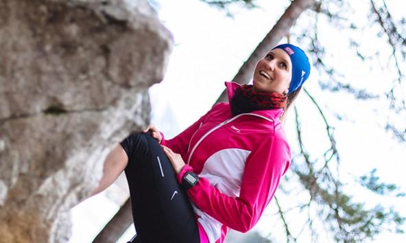 Klara Fuchs genießt bei jedem Lienz-Besuch die Waldläufe. Foto: Marco Leiter