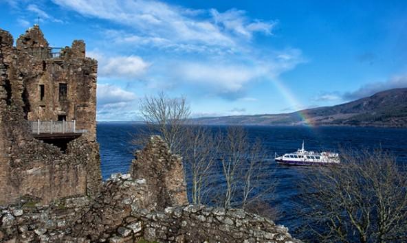 Urquhart Castle kann auf eine 1500-jährige Geschichte zurückblicken.