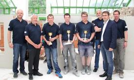 Alexander Gomig zählt zu Tirols besten Maurern