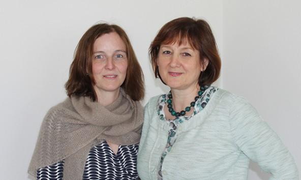 Monika Reindl-Sint (Freiwilligenzentrum) und Gabriele Lehner (Bildungshaus) organisieren die Kulturpatenschaften.