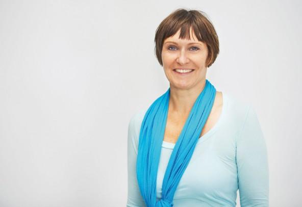 """Claudia Moser vom Verein """"Spielfeld Kultur""""."""