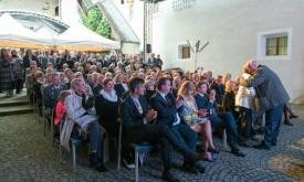 Pirkner-Vernissage: Szenetreff Schloss Bruck
