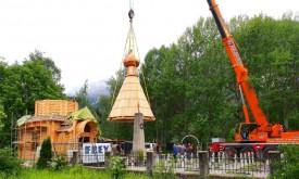 Kuppel und Kreuz für Lienzer Kosakenkapelle