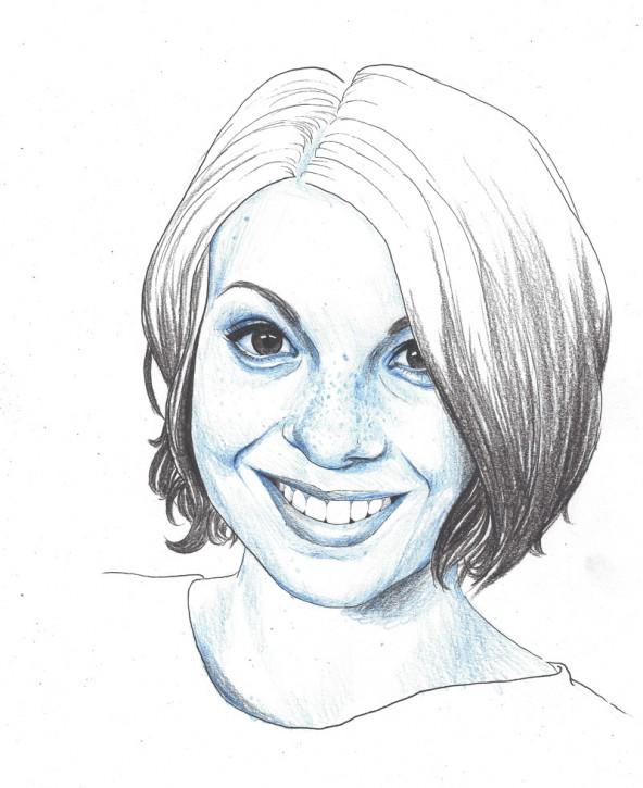 Elisabeth Ventura, porträtiert von Linda Steiner.