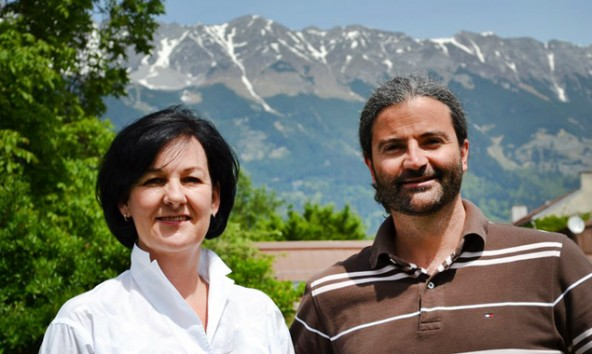 Sie stellten viele Fragen zum Direktzug und dessen Ersatz an landesrätin Felipe: FRITZ-Klubobfrau Andrea Haselwanter-Schneider und FRITZ-Osttirol-Bezirkssprecher Markus Sint.