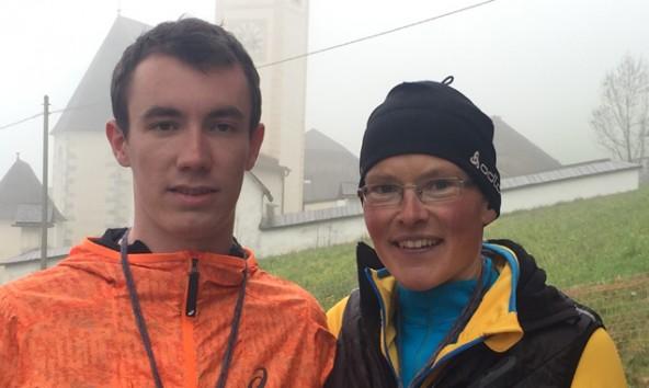 Michael Singer und Irmgard Huber waren die bestplatzierten Osttiroler in den Hauptrennen. Foto: SUR Lienz BB