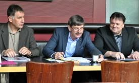 Drei Bürgermeister und ein Dauerthema