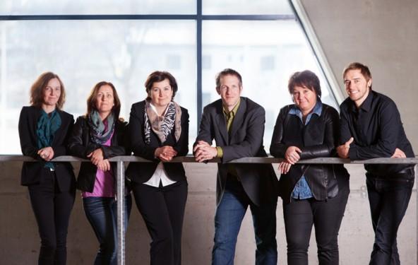 Das Team des RMO, von links: Monika Reindl-Sint, Petra Huber, Michaela Putzhuber, Michael Hohenwarter, Gina Streit und René Schader.