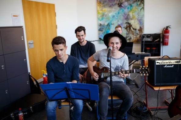 Die Band Broseidon sorgte für Unterhaltung.