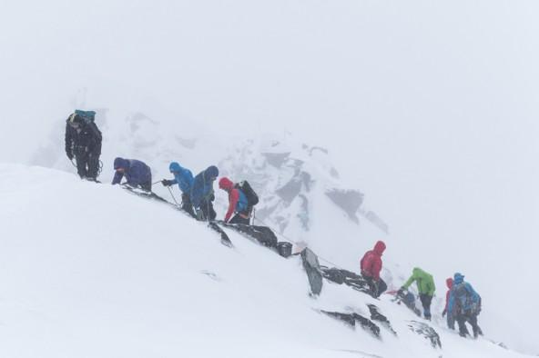 Der GlocknerSummit bot nicht nur interessante Diskussionen, sondern auch große bergsteigerische Herausforderungen.