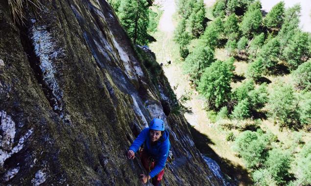 Die Schwierigkeitsgrade im neuen Klettergarten reichen von 3+ bis 8-. Fotos: Osttirol Werbung