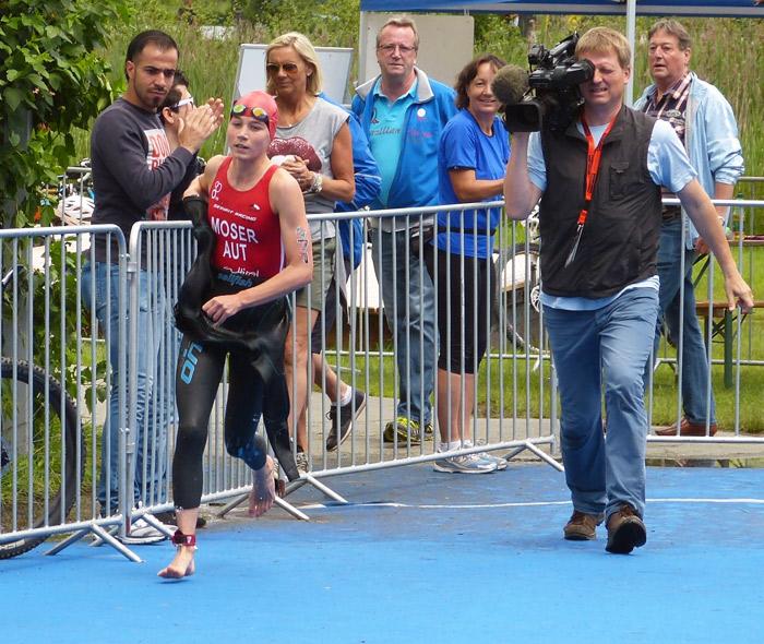 Theresa Moser erkämpfte sich mit viel Einsatz den Sieg. Fotos: RC Figaro Sparkasse Lienz