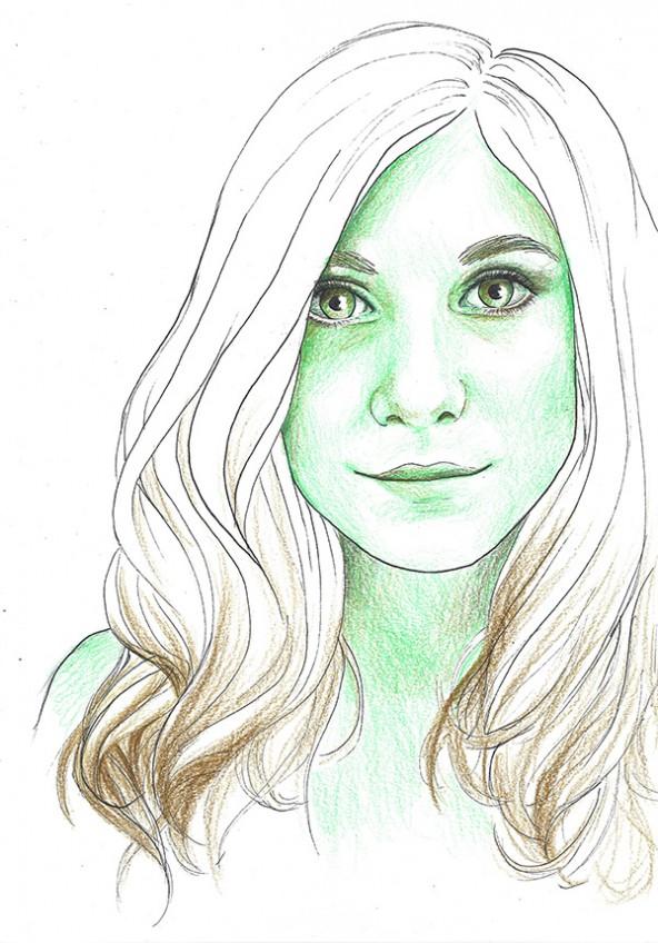 Antonella, porträtiert von Linda Steiner.