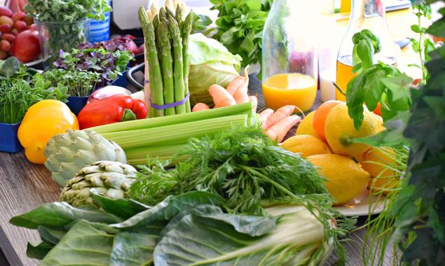 Gesundes Essen sieht auch gut aus! Fotos: Klara Fuchs