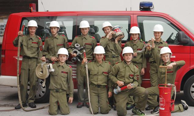 50 Feuerehrjugendgruppen bereiten sich schon intensivst auf den Wettbewerb in St. Jakob vor.