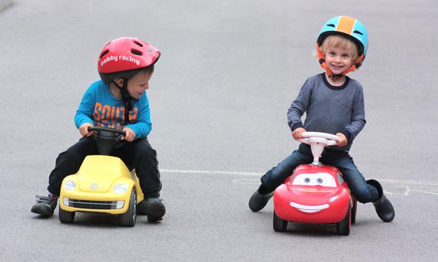 Schon die Kleinsten machen beim Kid's Race mit. Fotos: LRC Lienz