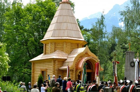 Die Erbauung dieser Kapelle schien lange unmöglich. Inzwischen gehört sie ins fixe Umgebungsbild der Peggetz. Foto: Ingruber