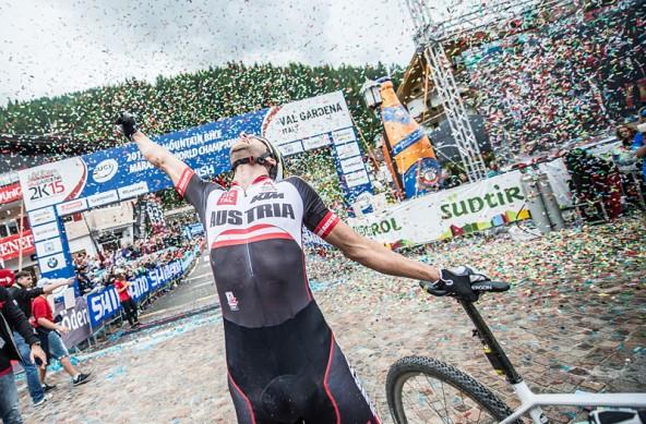 Alban Lakata ist der derzeit beste Marathon-Mountainbiker der Welt! Wir gratulieren dem frischgebackenen Weltmeister! Foto: Radsportverband