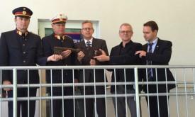 Lkw-Kontrollstelle Leisach wurde eröffnet