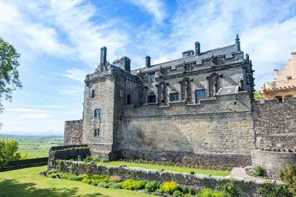 Stirling Castle bietet die beste Ausstellung unserer Reise.