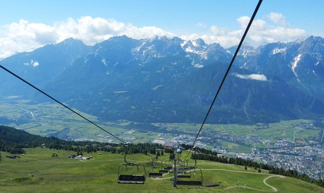 Wenn die Bergbahnen wieder fahren, ist der Sommer nicht mehr weit.