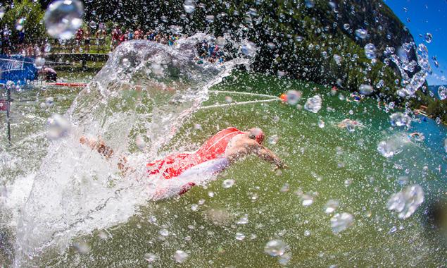 Perfekte Wetterbedingungen unterstützten die jungen Sportler. Foto: Brunner Images