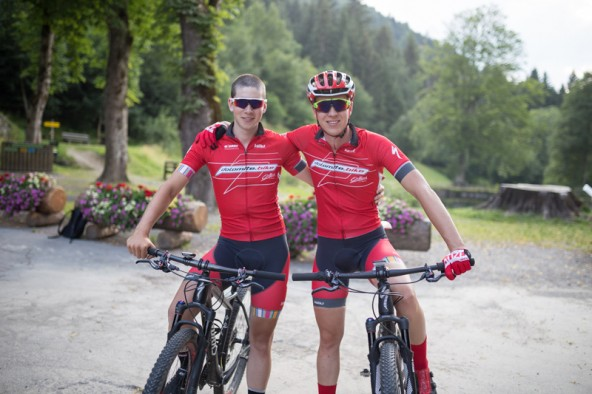 Jacob Britz und Patric Plankensteiner, Team Dolomite Bike