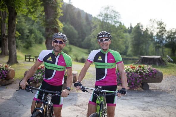 Franz Fröschl und Gerold Keil, Team Gesundheitswelt Lienz