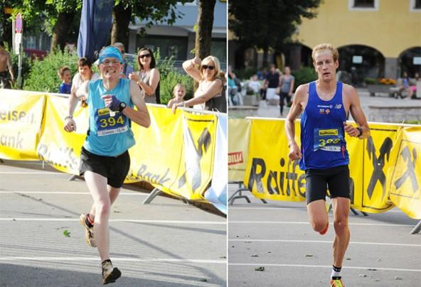 Die Schnellsten im Classic Run: Irmgard Huber und Mathias Steinwandter. Fotos: Veranstalter